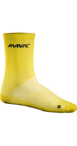 Mavic Cosmic High Fietssokken geel